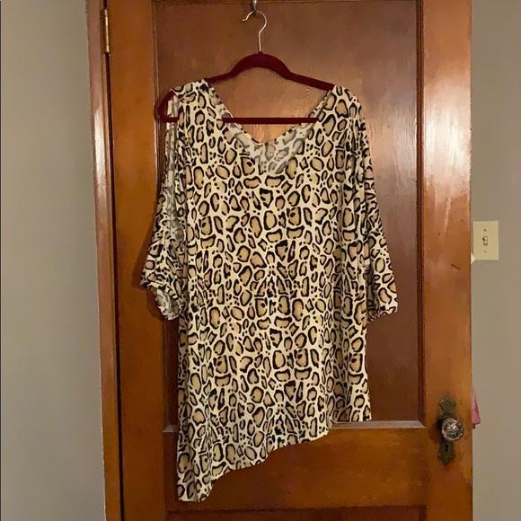 Lane Bryant Tops - Leopard tunic